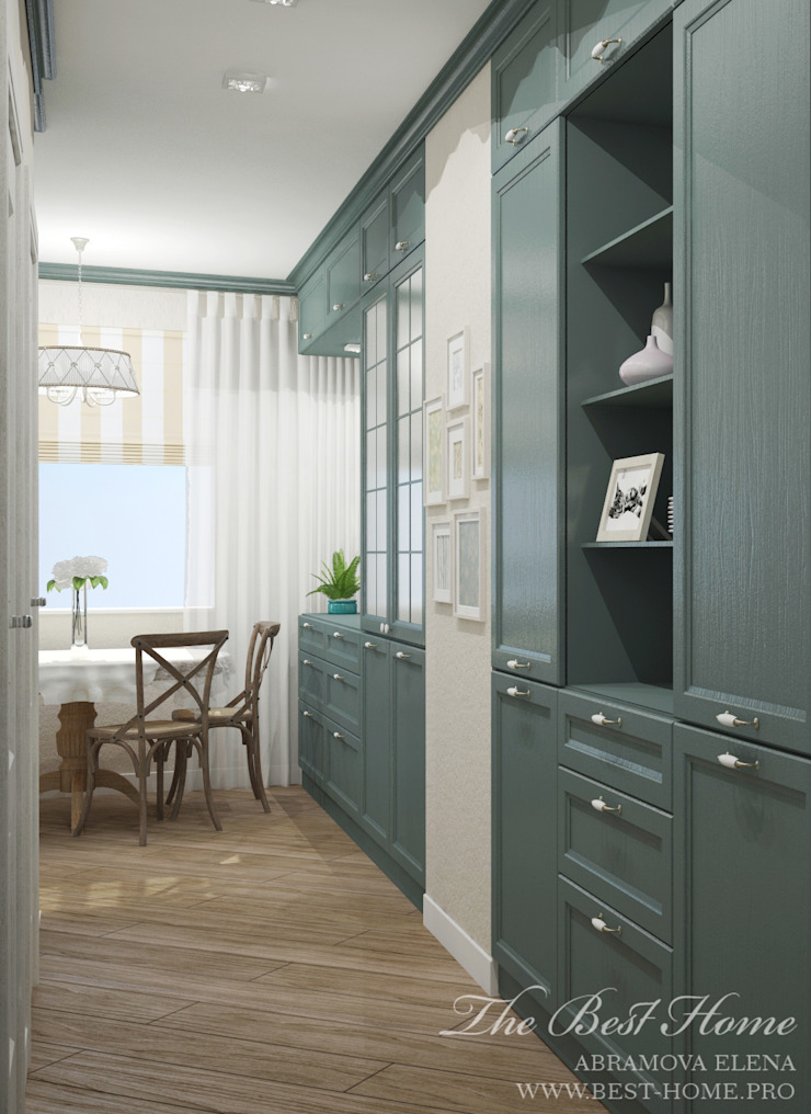 Best Home Country style kitchen Grey