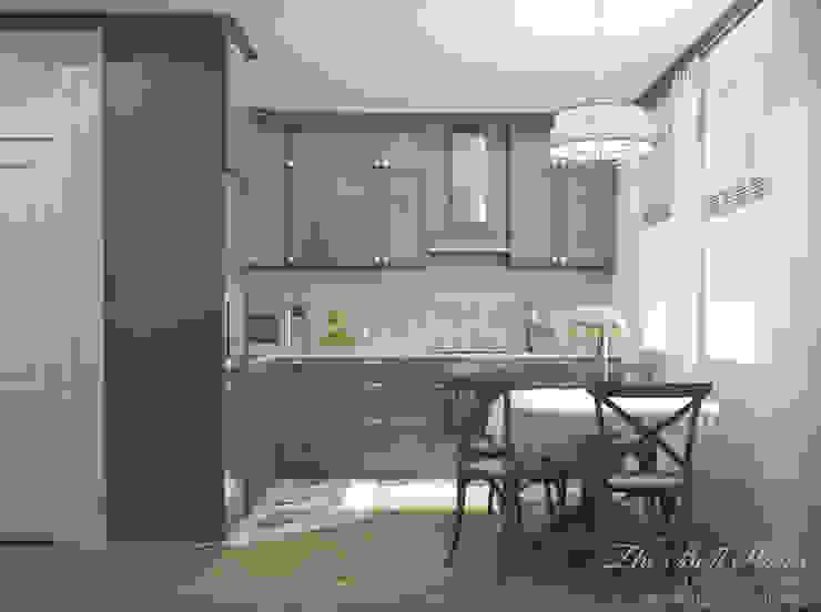 Best Home Scandinavian style kitchen Grey