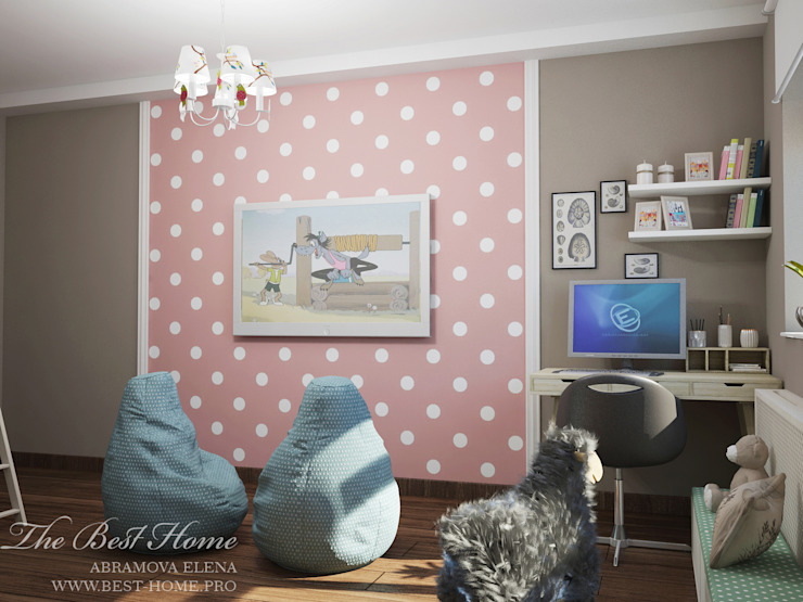 Best Home Skandinavische Kinderzimmer Pink