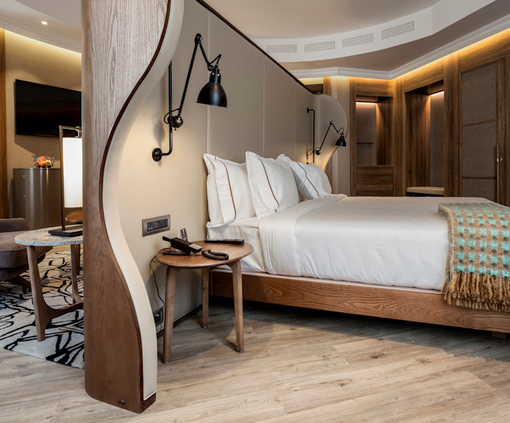 Modern Bedroom by BELTÁ & FRAJUMAR Modern