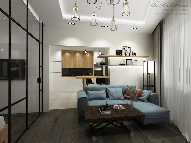 Industrial style living room by Best Home Industrial