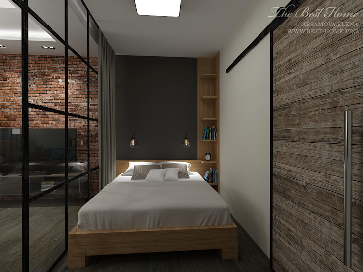 Industrial style bedroom by Best Home Industrial