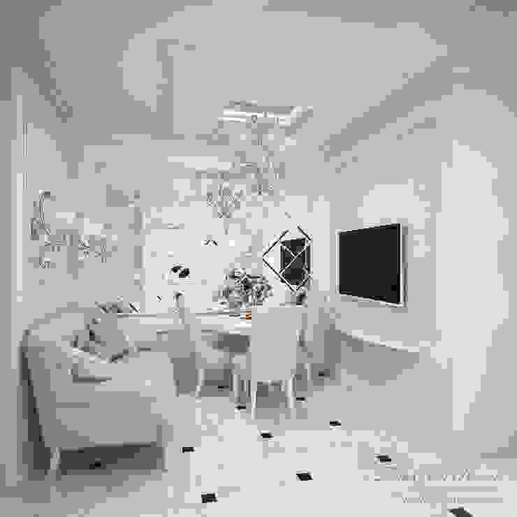 Best Home Klassische Wohnzimmer Weiß