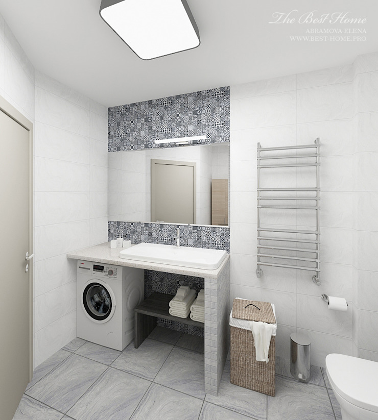 Best Home Eclectic style bathroom
