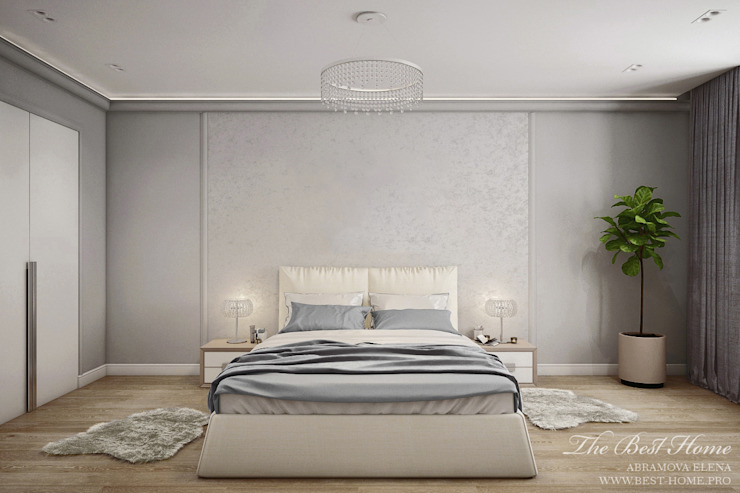 Best Home Classic style bedroom Grey