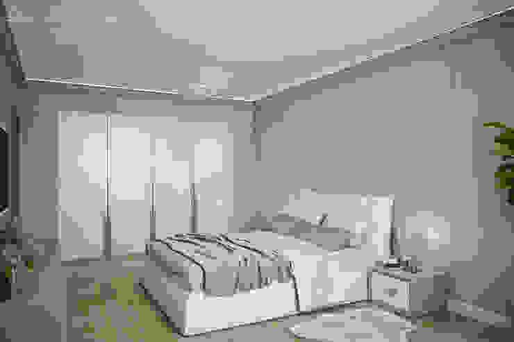 Best Home Eclectic style bedroom Grey
