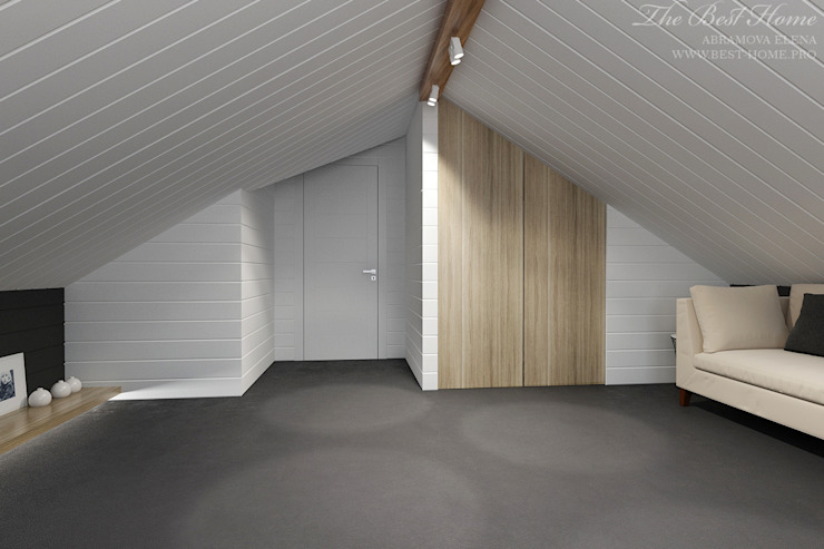 Best Home Skandinavische Arbeitszimmer