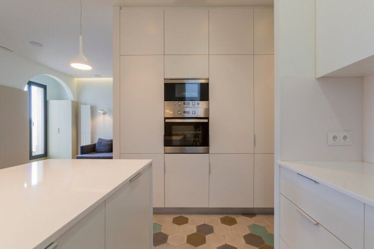 Reformas Barcelona Rubio Kitchen White