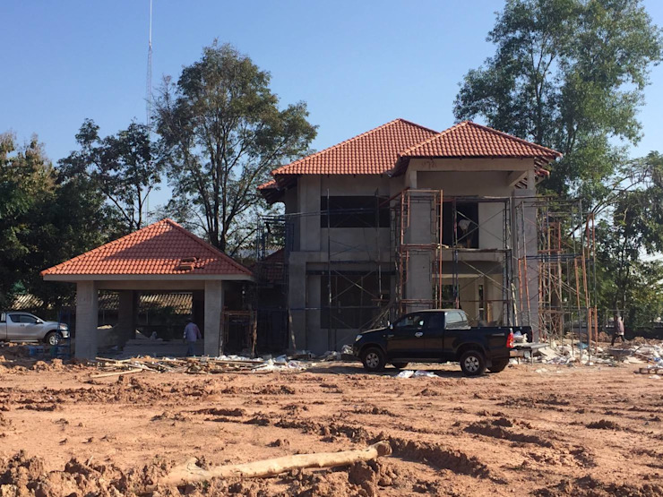 รับออกแบบ สร้างบ้าน ตามงบของคุณ ไม่บานปลาย ขอบคุณลูกค้าที่ไว้วางใจค่ะ โดย UD.Home Engineering