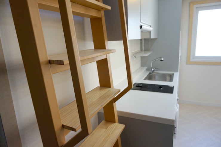 홍은동 루멘하우스 내외부 설계 및 시공감리 모던스타일 미디어 룸 by 마당디자인 / MADANGDESIGN 모던