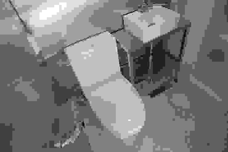 홍은동 루멘하우스 내외부 설계 및 시공감리 모던스타일 욕실 by 마당디자인 / MADANGDESIGN 모던