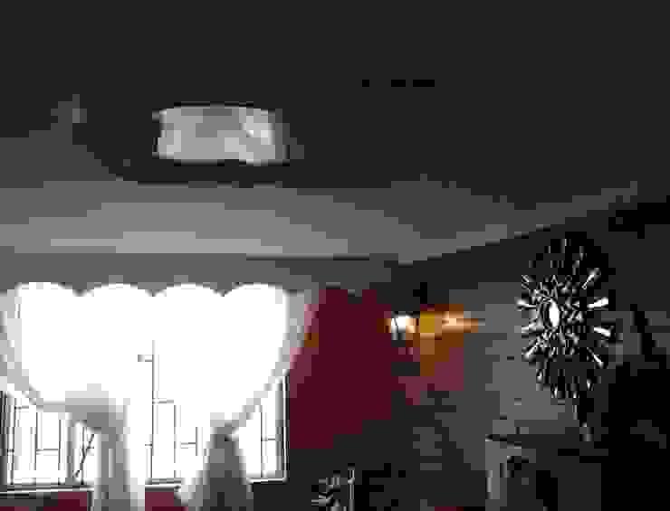 DISEÑO Y DECORACIÓN DE ESPACIOS INTERIORES Rustic style living room