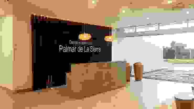 DISEÑO Y ADECUACIONES CENTRO DE INFORMACIÓN Y DOCUMENTACIÓN PALMAR DE LA SIERRA - FEDEPALMA CENIPALMA de Balance Arquitectura Rural Madera Acabado en madera
