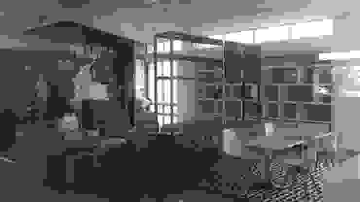 DISEÑO Y ADECUACIONES CENTRO DE INFORMACIÓN Y DOCUMENTACIÓN PALMAR DE LA SIERRA - FEDEPALMA CENIPALMA de Balance Arquitectura Rústico Madera Acabado en madera