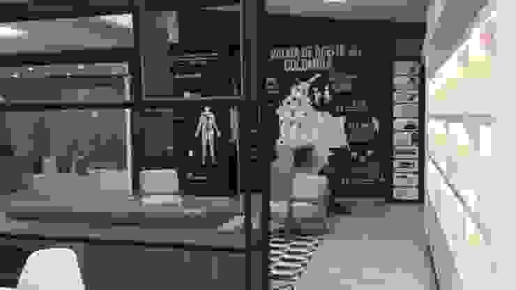 DISEÑO Y ADECUACIONES CENTRO DE INFORMACIÓN Y DOCUMENTACIÓN PALMAR DE LA SIERRA - FEDEPALMA CENIPALMA de Balance Arquitectura Rural Sintético Marrón