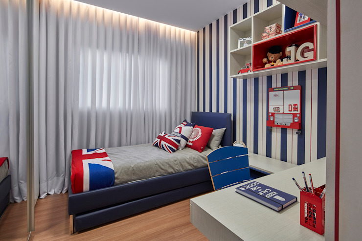 Modern nursery/kids room by CLS ARQUITETURA Modern