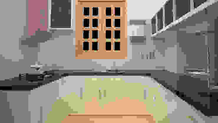 Residential-3BHK-2400sft Modern kitchen by BNH DESIGNERS Modern