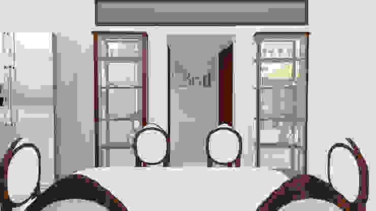 Residential Duplex Villa Modern dining room by BNH DESIGNERS Modern