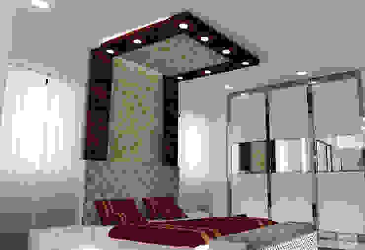 Residential Duplex Villa Modern style bedroom by BNH DESIGNERS Modern
