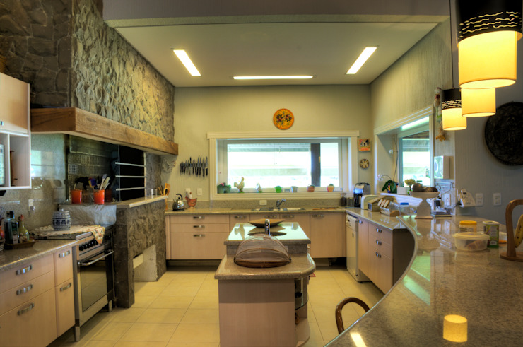 Cocinas de estilo rural de CABRAL Arquitetos Rural