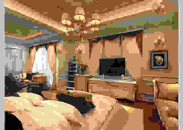 Biệt thự Tân cổ điển Ông Hòa – Hải Phòng Phòng ngủ phong cách kinh điển bởi CÔNG TY CP XÂY DỰNG VÀ KIẾN TRÚC ĐẤT VIỆT Kinh điển