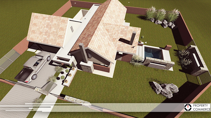 House Viljoen:  Houses by Property Commerce Architects,