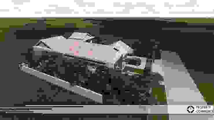 Property Commerce Architects Rumah Modern