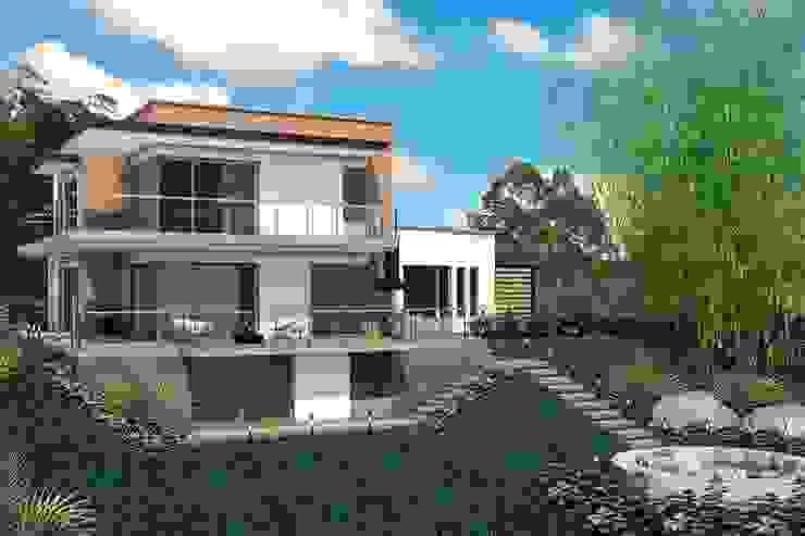 VIVIENDA QUIRAMA Casas modernas de G2 ESTUDIO Moderno Ladrillos