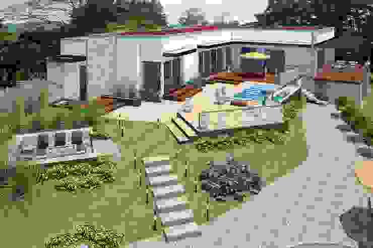 VIVIENDA SPA Casas de estilo mediterráneo de G2 ESTUDIO Mediterráneo Ladrillos