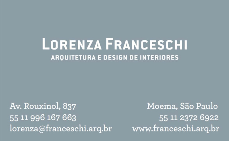 bởi Lorenza Franceschi Arquitetura e Design de Interiores
