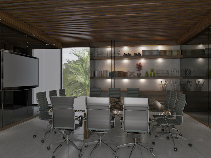 Taller Interno Modern study/office
