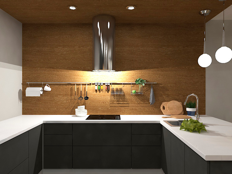 AM Design Dapur Gaya Eklektik