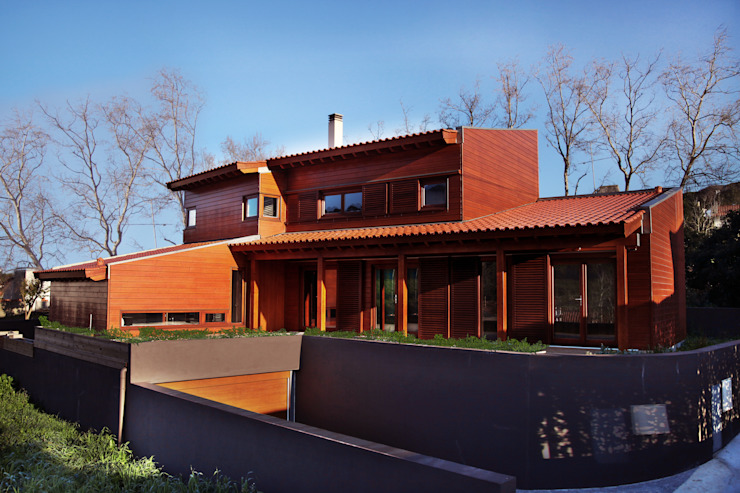 RUSTICASA Wooden houses Wood Wood effect