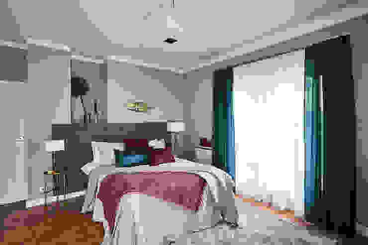 Schlafzimmer von Mhomestudio