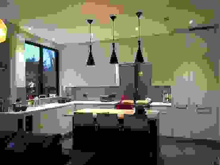 Kitchen bar Modern Kitchen by A2studio Modern