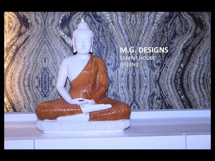 Enterance Modern living room by malvigajjar Modern Stone