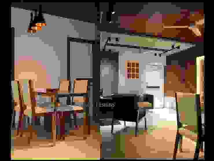 Dining Room Modern dining room by malvigajjar Modern Engineered Wood Transparent