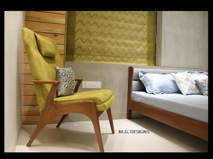 Bedroom Modern style bedroom by malvigajjar Modern MDF