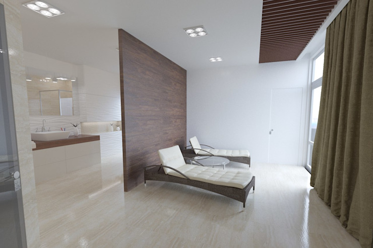 зона отдыха Modern Spa by Anastasia Yakovleva design studio Modern