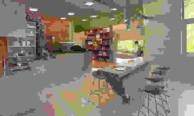 Кухня Modern Kitchen by Anastasia Yakovleva design studio Modern