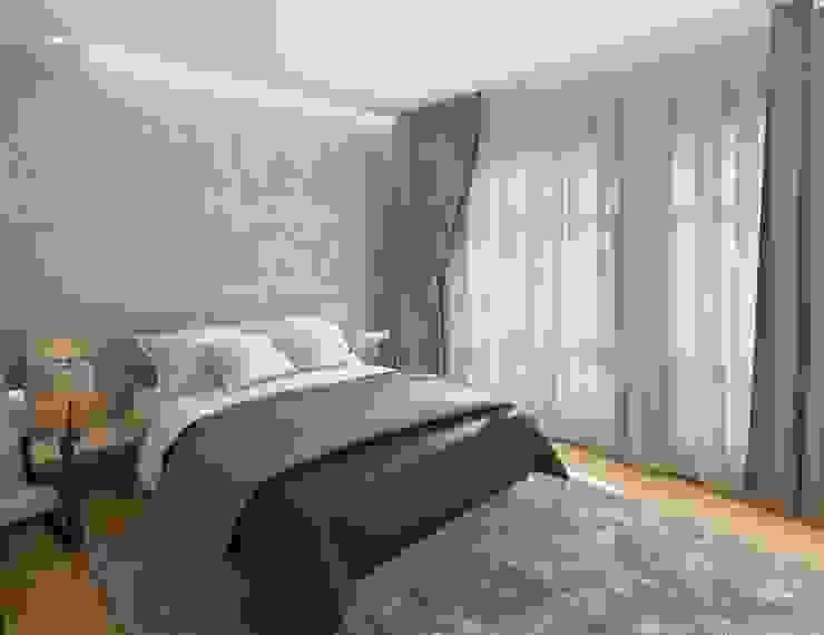 Спальня Modern Bedroom by Anastasia Yakovleva design studio Modern