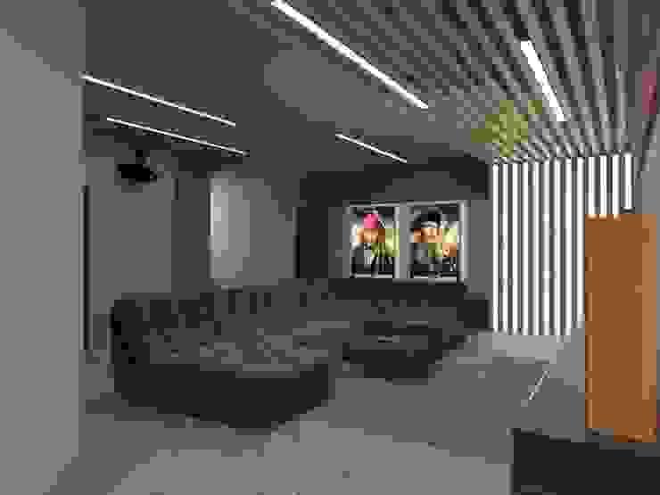 Кинозал Modern Media Room by Anastasia Yakovleva design studio Modern