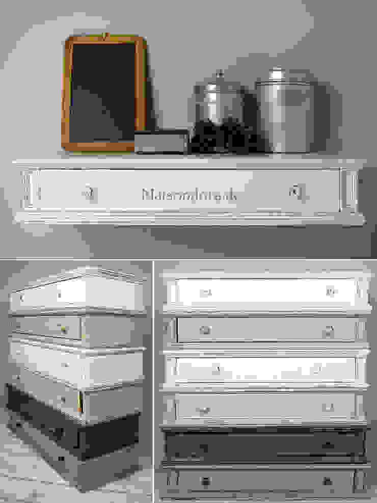 Maisondora Vintage Living Corredor, vestíbulo e escadasCômodas e estantes Madeira Multi colorido