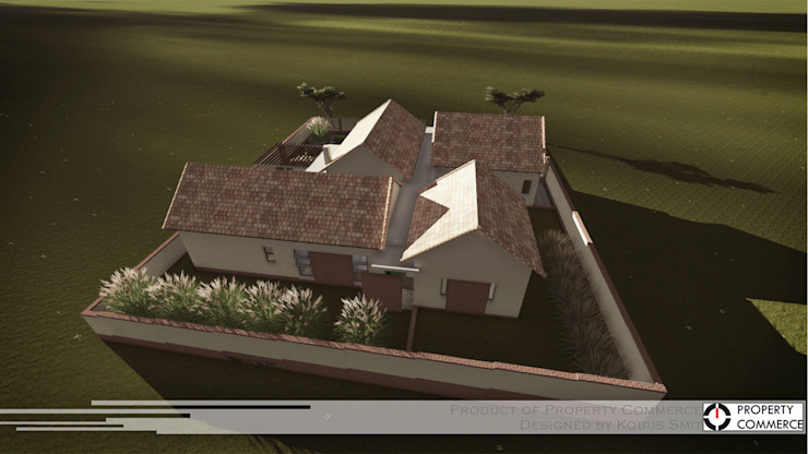 ​Prototype design 02 Modern houses by Property Commerce Architects Modern