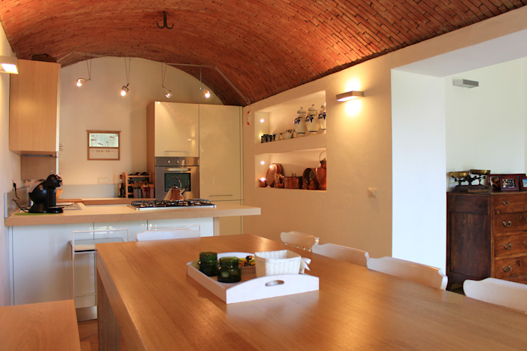 Kitchen by giorgio davide manzoni, Country Bricks