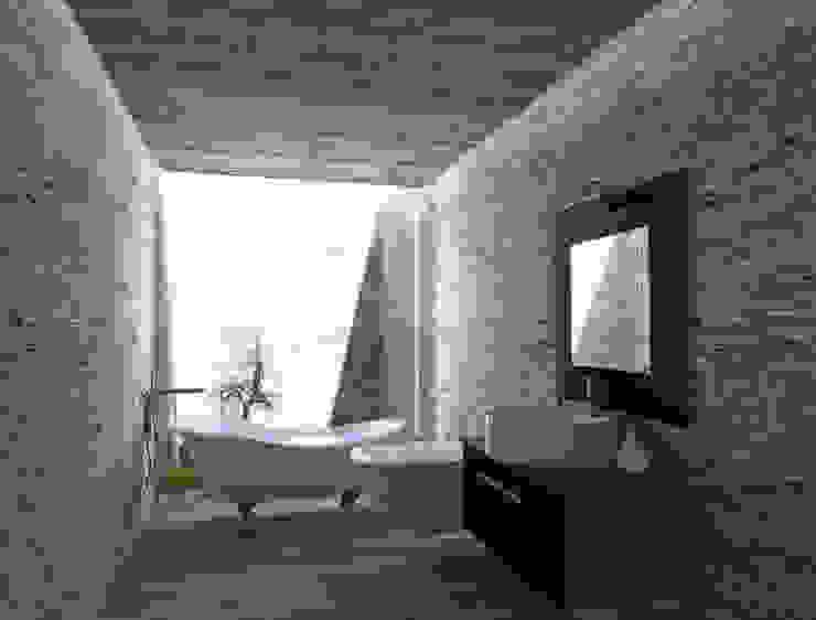 Baños modernos de NEF Arq. Moderno