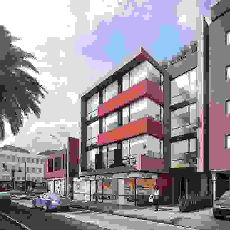 Edificio K57 Living Casas estilo moderno: ideas, arquitectura e imágenes de CONSTRUCCIONES 2AM S.A.S. Moderno