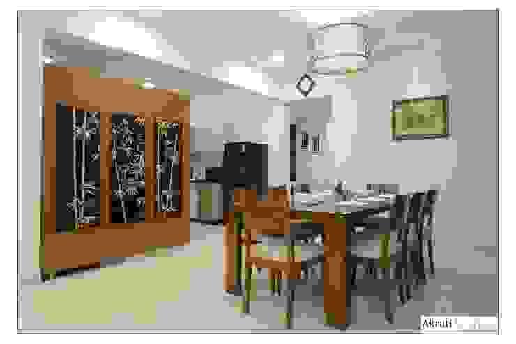 Dining: modern  by Akruti Interiors Pune,Modern Plywood