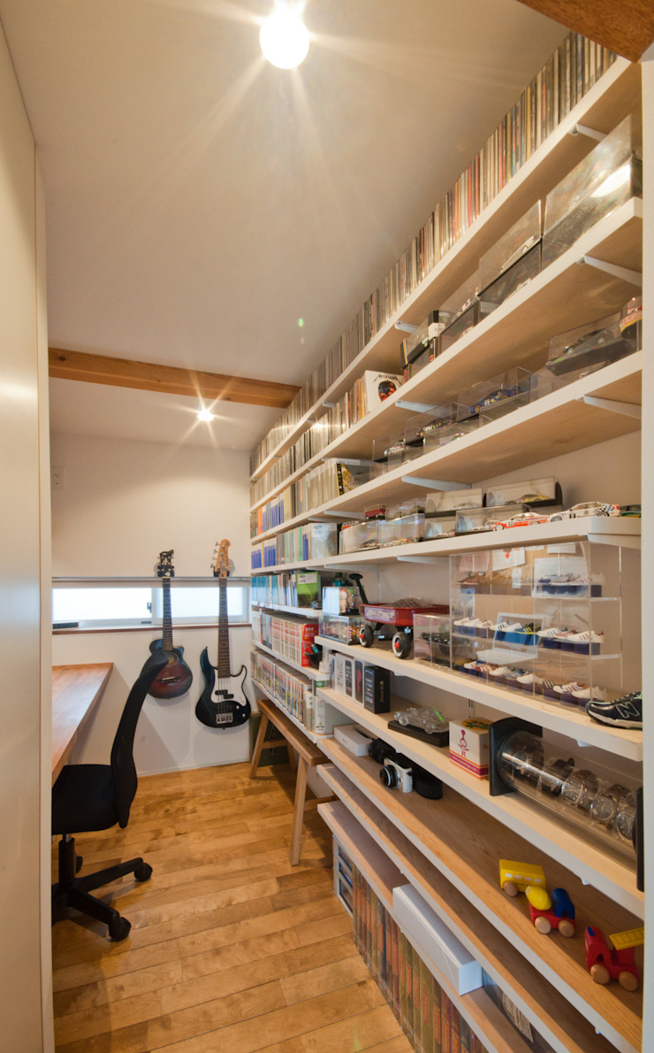 Scandinavian style study/office by FrameWork設計事務所 Scandinavian