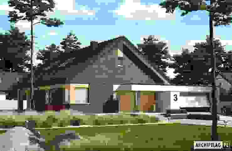 現代房屋設計點子、靈感 & 圖片 根據 Pracownia Projektowa ARCHIPELAG 現代風